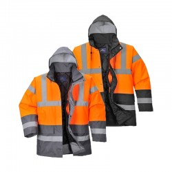 Parka haute visibilité TRAFFIC orange Portwest
