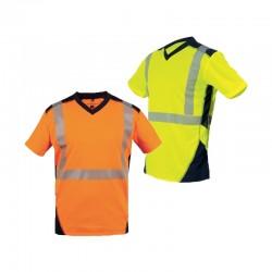 Tee-shirt haute visibilité BALI - T2S