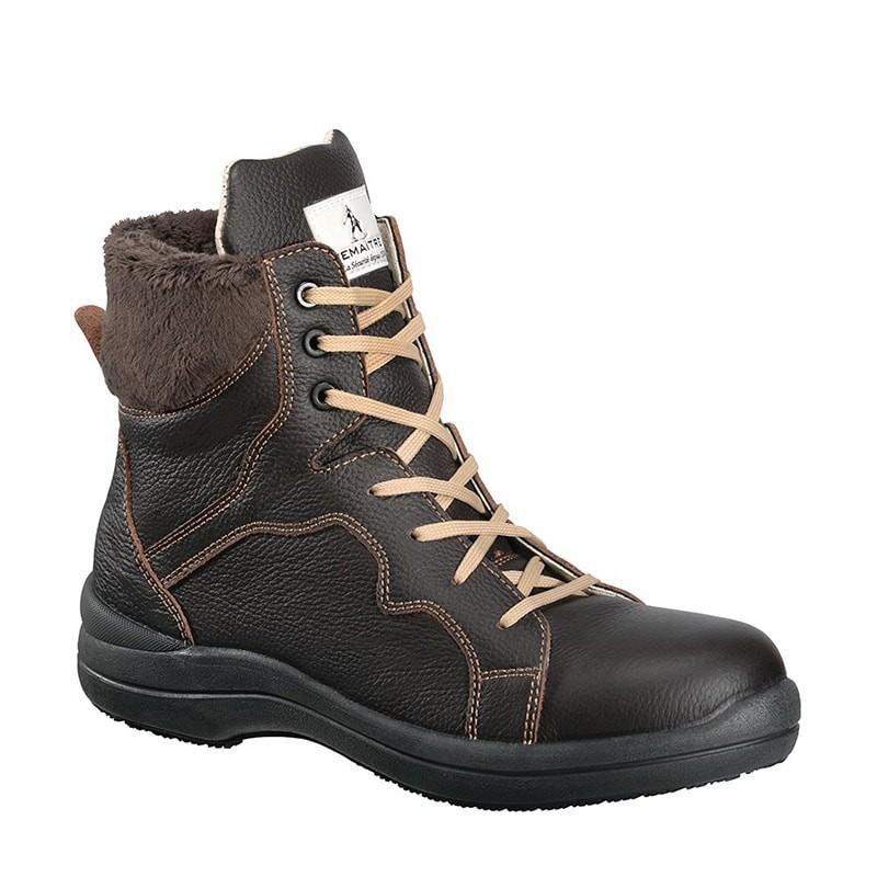 Chaussure de sécurité haute femme BRUNNELLE S3 SRC Lemaitre. Loading zoom
