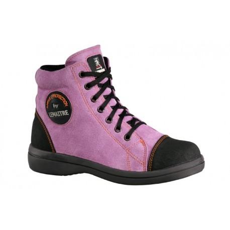 chaussure de s curit femme vitamine s2 haute lemaitre. Black Bedroom Furniture Sets. Home Design Ideas