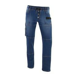 Pantalon Stretch Molleton DENIM 0307