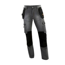Pantalon en Jean avec Genouillères DENIM 0306