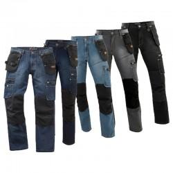 Pantalon en Jean avec Genouillères DENIM 0306 (Collection PULS) Molinel